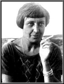 Marina Tsvetàieva, a mitja edat.